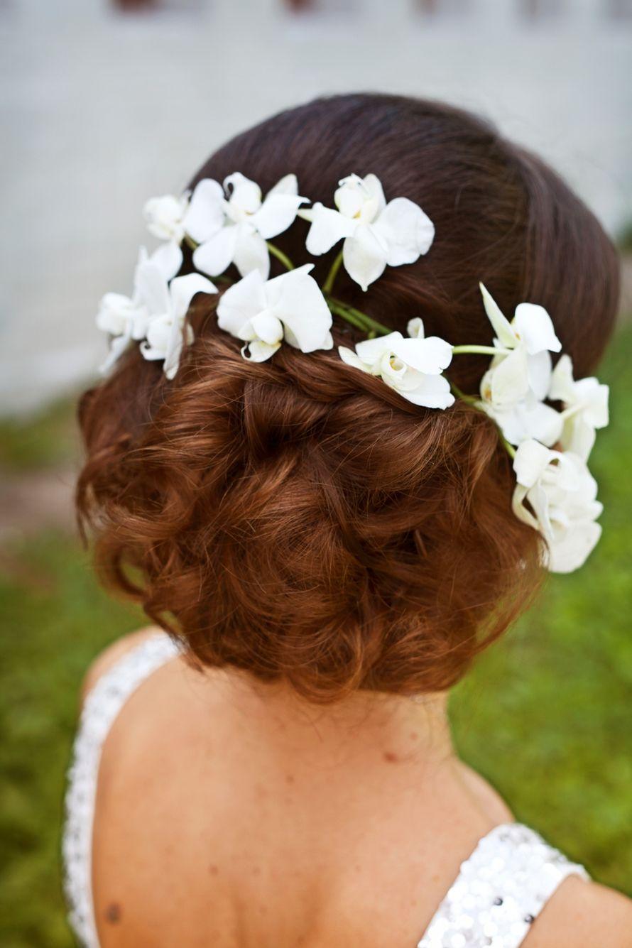 Фото детских свадебных причесок