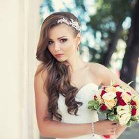 Невеста Александра фотограф Ксения Губарева прическа и макияж Анна Лазебная