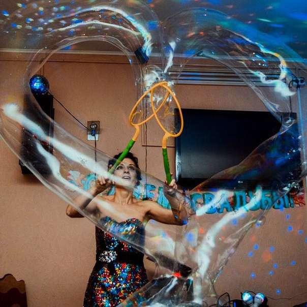 Фото 10813318 в коллекции шоу мыльных пузырей - Шоу мыльних пузырей Дины Бересневой