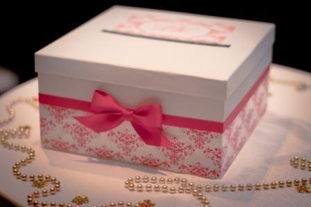 Сундук для денег на свадьбу из коробки пошагово