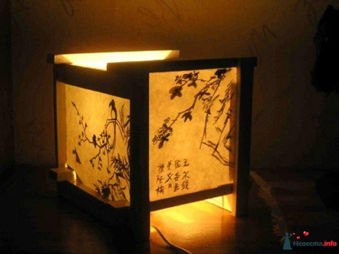Светильник в японском стиле как сделать своими руками