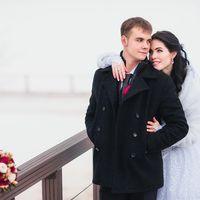 Зимняя свадьба Риты и Сережи