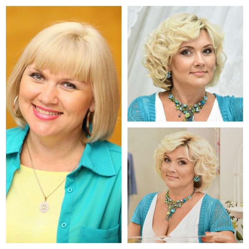 Образ мамочки невесты, до и после - фото 10623940 Стилист Ирина Воронова