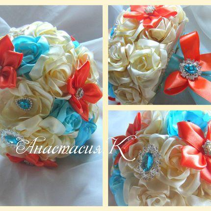 Букеты для невесты из искусственных цветов