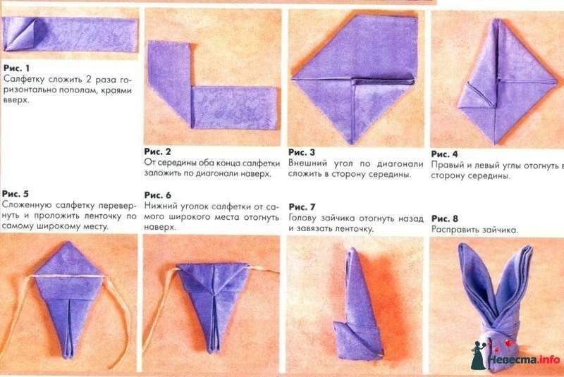Как красиво сделать салфетки бумажные на стол