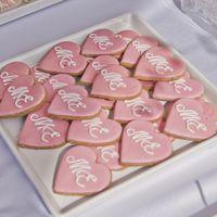 Печенье с инициалами