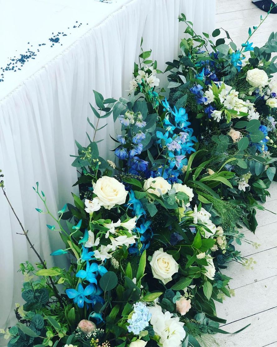 Флористическое оформление зала