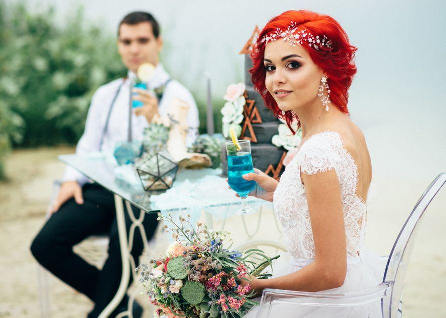 """Оформление стола молодоженов - фото 16526988 Мастерская оформления свадеб """"Magic garden"""""""