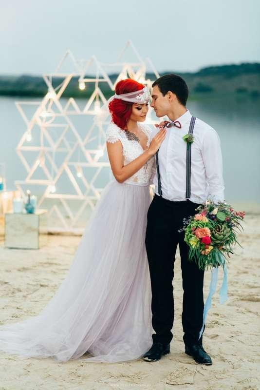 """Вечерняя церемония на пляже - фото 16526990 Мастерская оформления свадеб """"Magic garden"""""""