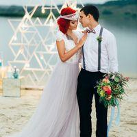 Вечерняя церемония на пляже