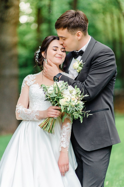 """Букет в бело-зеленой гамме - фото 17766246 Мастерская оформления свадеб """"Magic garden"""""""