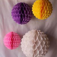 Бумажные шары - соты