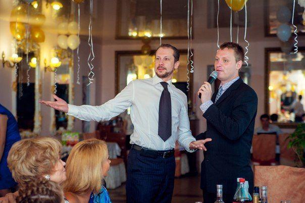 Ведущий на Свадьбу Сергей Кулиев - фото 10054670 Дуэт - ведущий Сергей Кулиев и DJ Андрей Маркьянов