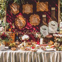 Гранатовая Свадьба. Декор LoveLetter. Организация Анастасия Морозова. Фотограф Марина Назарова.