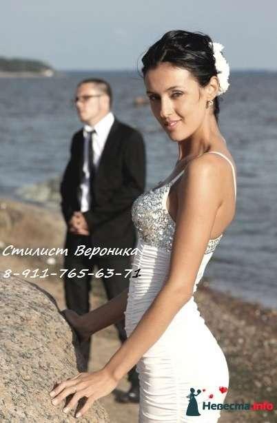 Фото 309343 в коллекции Мои невесты (прически и макияж) - Стилист Вероника Краснова