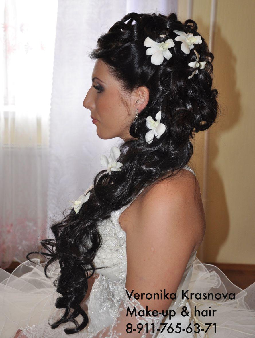 Фото 859113 в коллекции Мои невесты (прически и макияж) - Стилист Вероника Краснова