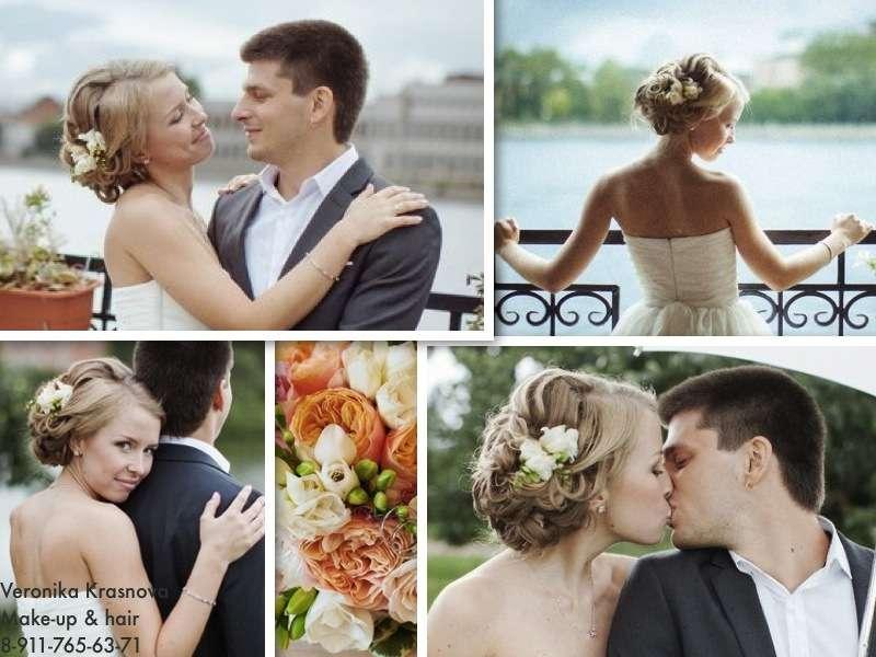 Фото 859123 в коллекции Мои невесты (прически и макияж) - Стилист Вероника Краснова
