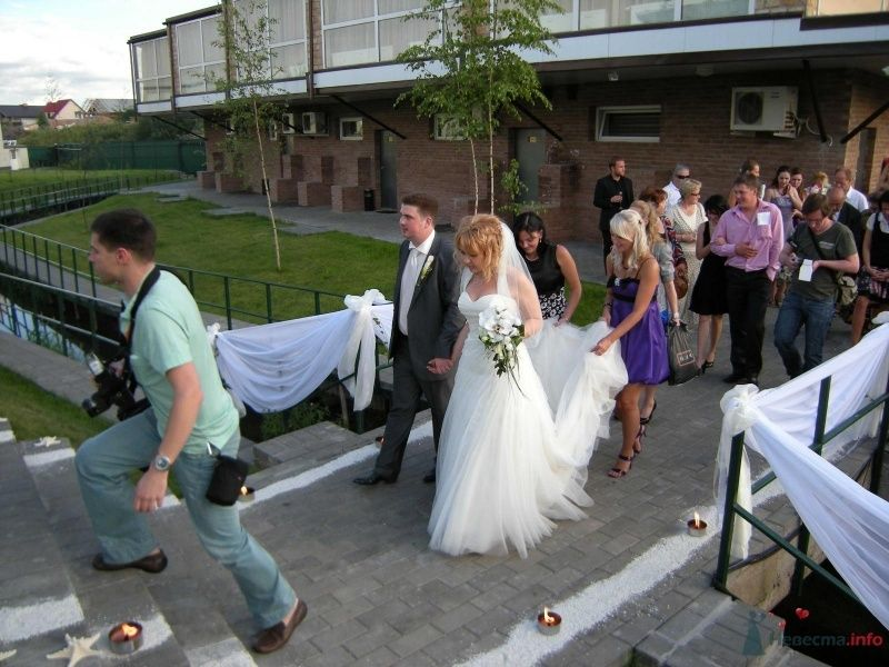 """Жених и невеста - фото 32163 Загородный клуб и отель и ресторан """"Juna-fish"""""""