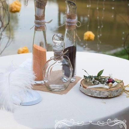 Песочная свадебная церемония