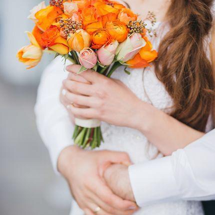 Букет невесты - осенний