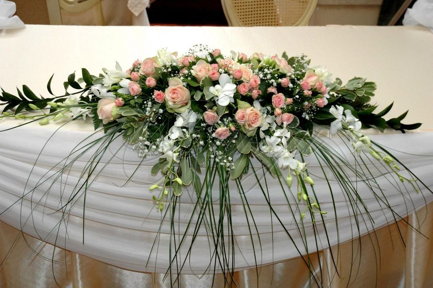Букеты своими руками на свадебный стол 134