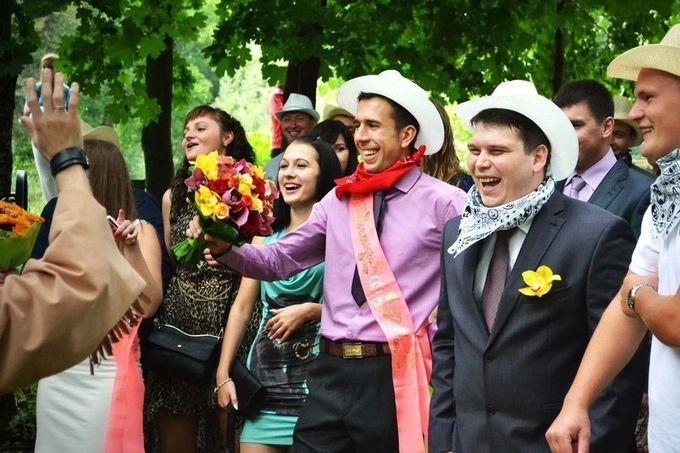 выкуп невесты в стиле дикий запад