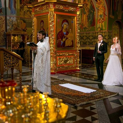Фотосъёмка таинства Венчания