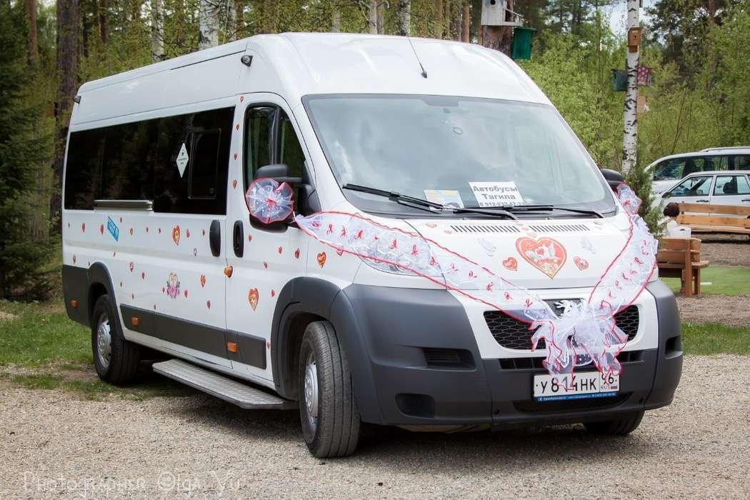 """Фото 3846139 в коллекции микроавтобус, автобус, лимузин, заказ Нижний Тагил - """"Автобусы Тагила"""" - свадебный кортеж"""