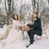 Зимняя свадьба. оформление Brides decor