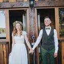 Встреча жениха и невесты Утро Лес Лето Любовь
