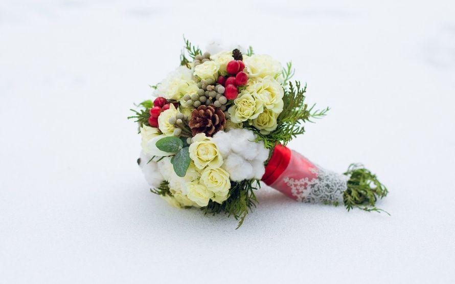 Букет невесты. Свадебная флористика - фото 3890751 Bon-Bon Studio Свадебный декор и флористика