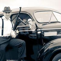 Ретро автомобиль на свадьбу Dodge D-12 1939г.