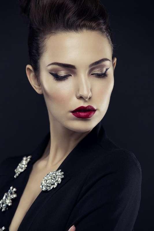 макияж со стрелкой для фотосессии - фото 17083162 Стилист-визажист Крашенинникова Елена