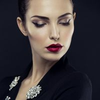макияж со стрелкой для фотосессии
