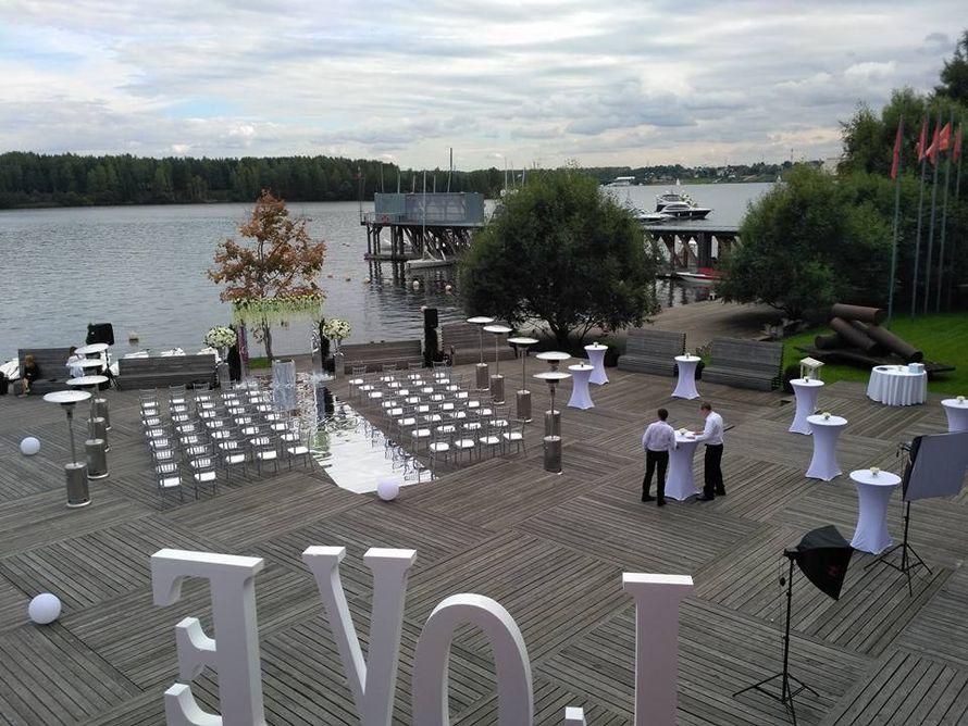 """Площадка для выездной церемонии перед рестораном """"Кот Дазур"""" - фото 12438700 Ресторан """"Кот дазур"""""""