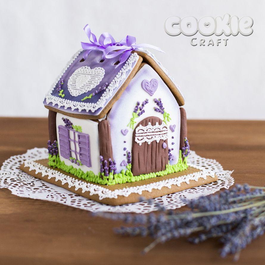 """Свадебный пряничный домик в стиле """"Прованс"""" - фото 9705832 Cookie craft - пряники и тортики ручной работы"""