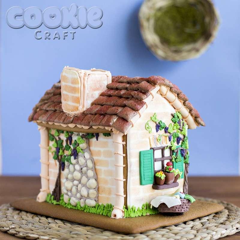 Пряничный домик на берегу Средиземного моря - фото 9705852 Cookie craft - пряники и тортики ручной работы