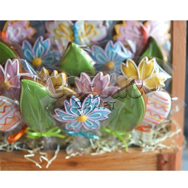 Много-много пряничных цветов ;) - фото 14855176 Cookie craft - пряники и тортики ручной работы