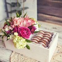 Свадебные цветы и пряники