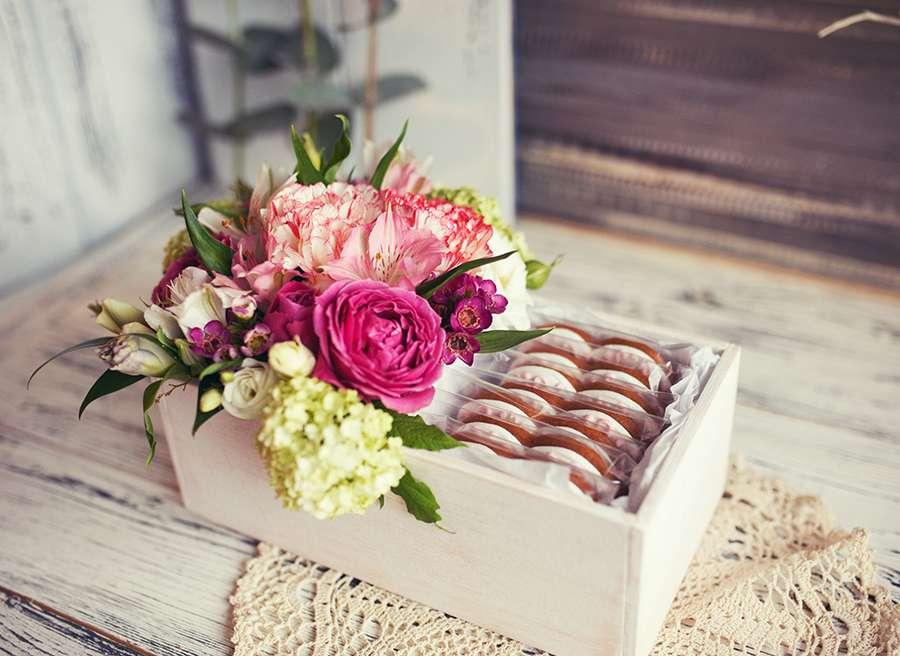 Свадебные цветы и пряники - фото 14855196 Cookie craft - пряники и тортики ручной работы