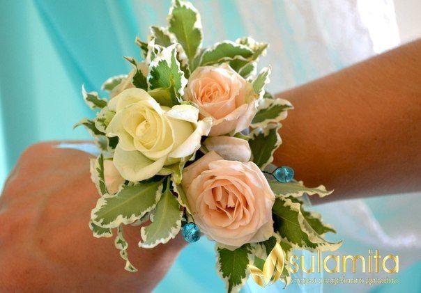 браслет для подружки невесты - фото 4362637 Флорист Яковлева Светлана