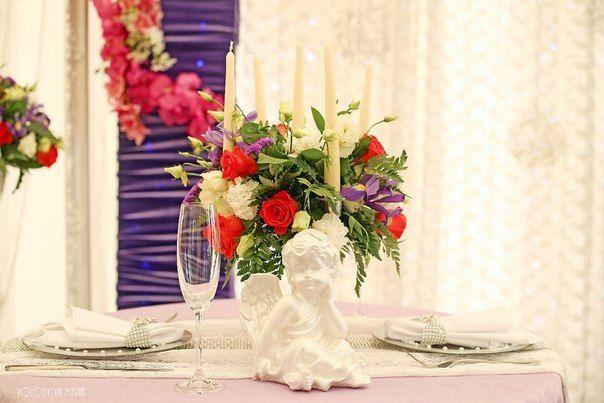 Композиция со свечами для Wedding DeLuxe Show 2015 - фото 6646608 Флорист Яковлева Светлана