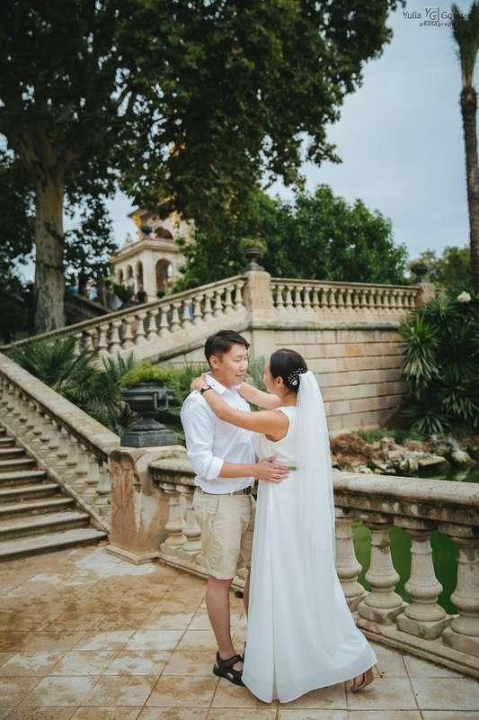 Фото 4467603 в коллекции Фотосессия в медовый месяц в Монтсеррат. - Фотограф в Испании, Барселоне, Ллорет де Мар,