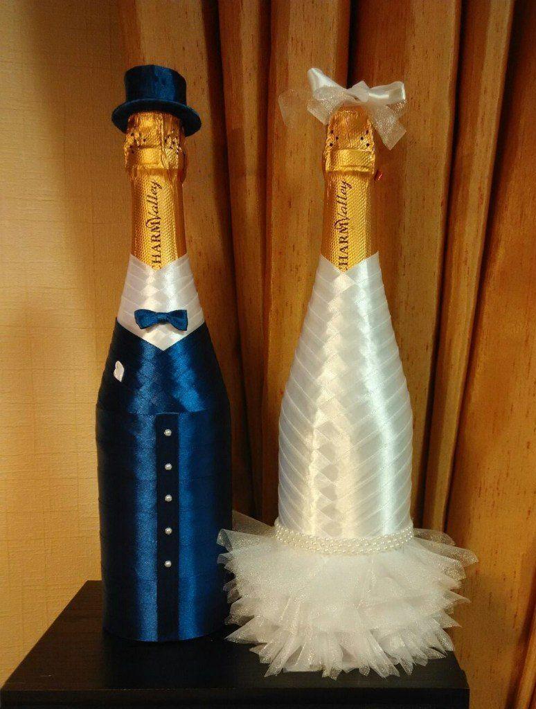 Шампанское на свадьбу своими 2