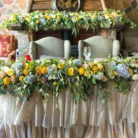 Зона президиума на итальянской свадьбе #итальянскаясвадьба #президиум #камин #декор  #лимоны #декоркамина