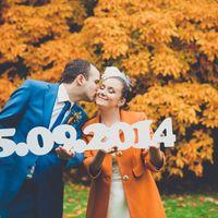 Свадьба Анастасии и Александра #свадьба #пазл #осень #букетневесты #утроневесты #президиум