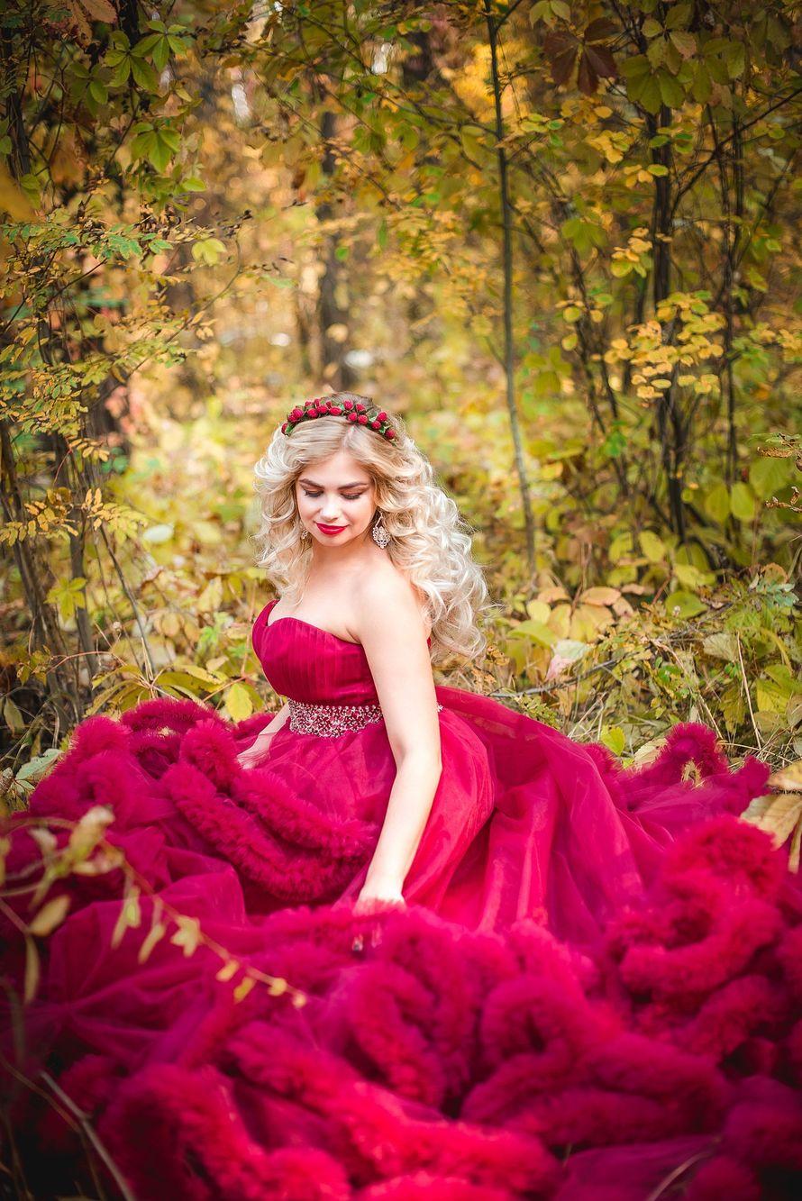 Фотосессия в платье облаке энгельс