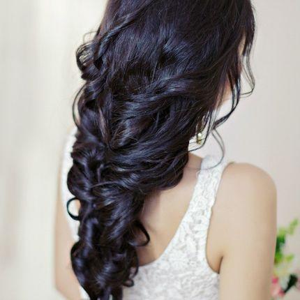 Греческая коса и макияж