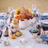 свадебное оформление осенью