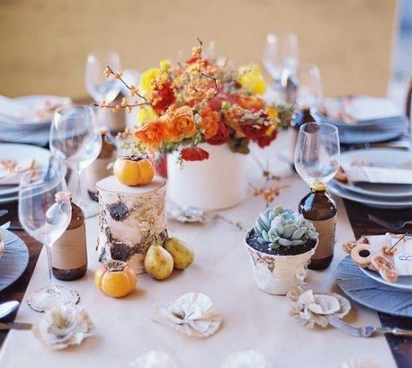 свадебное оформление осенью - фото 6851766 Невеста01
